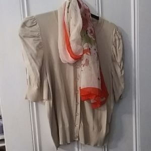 August silk and scarf combo XL